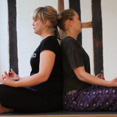 yoga odense private lesson at Lotus BB & Spa