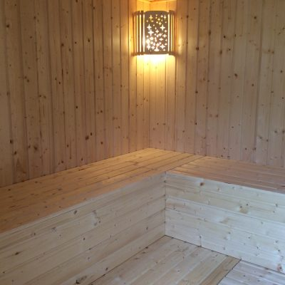 Beautiful Sauna offered at Lotus BB & Spa in Odebse